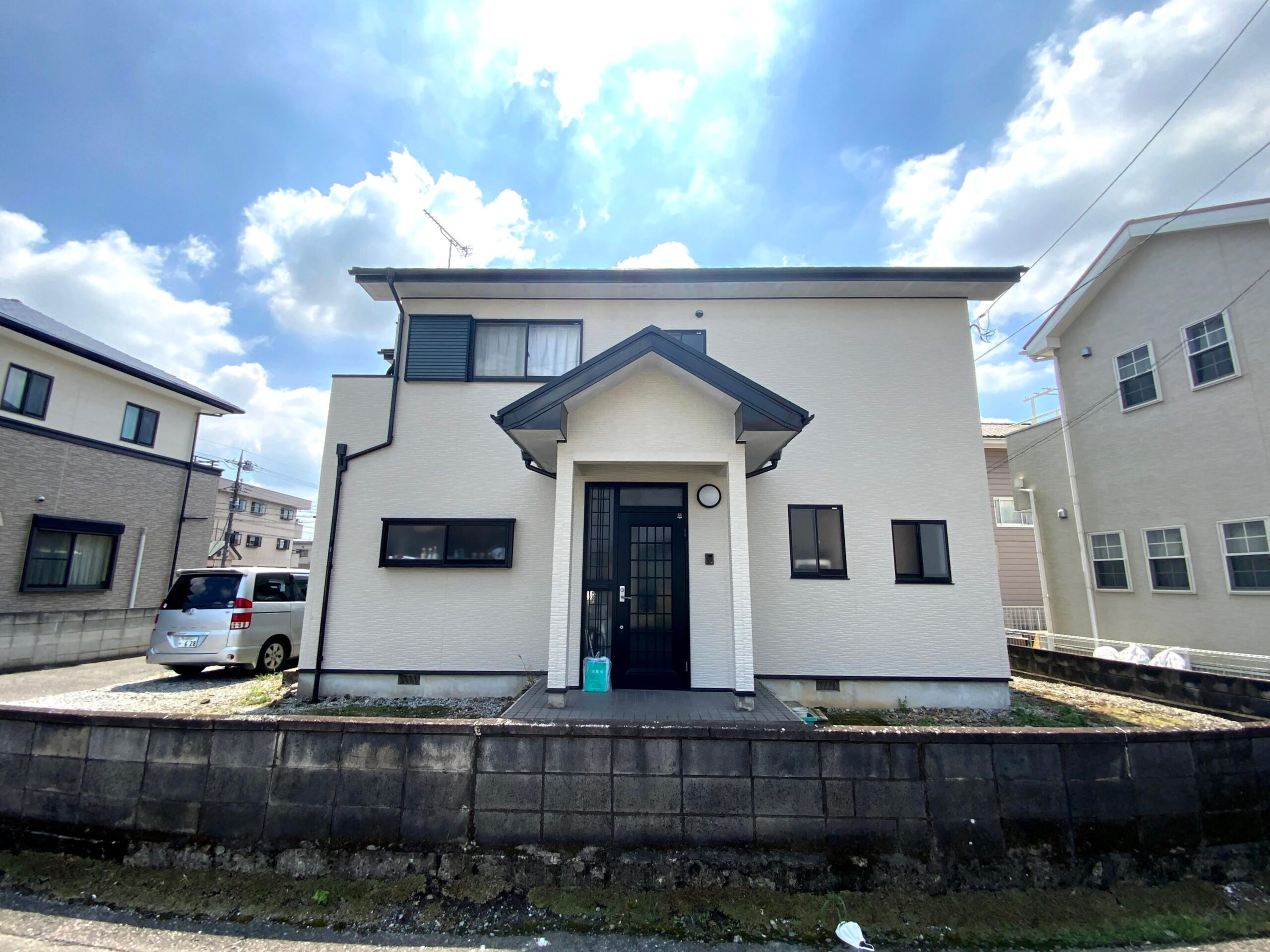 【まるで新築に】「外壁の貼替」と「屋根の葺替」 下都賀郡壬生町